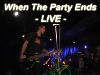 When The Party Ends - LIVE -